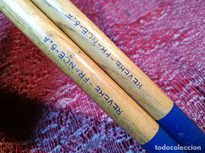 Instrumentos musicales: BAQUETAS FRANCESAS RIVERE Nº 5A ---AÑOS 50 ORIGINAL VINTAGE - REF -ML - Foto 4 - 147977382