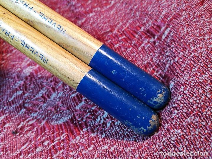 Instrumentos musicales: BAQUETAS FRANCESAS RIVERE Nº 5A ---AÑOS 50 ORIGINAL VINTAGE - REF -ML - Foto 7 - 147977382