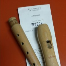 Instrumentos musicales: FLAUTA DULCE MADERA MOECK MD A 80/1265. Lote 148665729