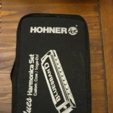 Instrumentos musicales: HOHNER. BLUES HARMONICA SET.. Lote 148696222