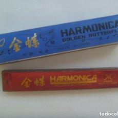 Instrumentos musicales: HARMONICA GOLDEN BUTTERFLY . MADE IN CHINA . EN SU CAJA ORIGINAL.. Lote 149580050