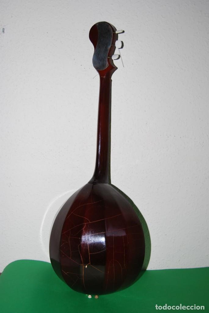 Instrumentos musicales: MANDOLINA DE TRES CUERDAS - PINTADA A MANO - ESCENA HIPPIE - AÑOS 60 - Foto 14 - 150838506
