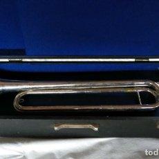 Instrumentos musicales: CORNETA AMERICANA MARCA JOHNSON SPECIAL, CON SU CAJA.. Lote 151932998
