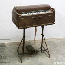 Instrumentos musicales: ANTIGUO ARMONIO DE PEDAL ARTESANAL - PIEZAS O RESTAURACIÓN - MEDIADOS SIGLO XX - #E01. Lote 151943718