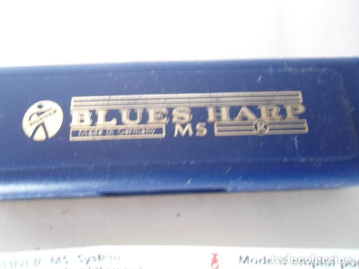 Instrumentos musicales: ARMONICA HOHNER BLUES HARP MS G - Foto 13 - 151978390