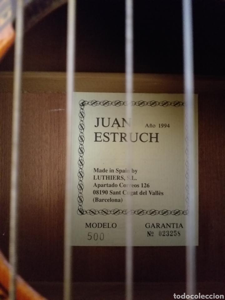 Instrumentos musicales: Guitarra JUAN ESTRUCH modelo-500 de 1994 - Foto 2 - 152318837