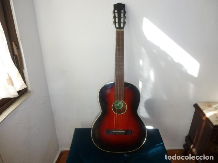 GUITARRA AUSTRIACA OSKAR MAURUS (Música - Instrumentos Musicales - Guitarras Antiguas)