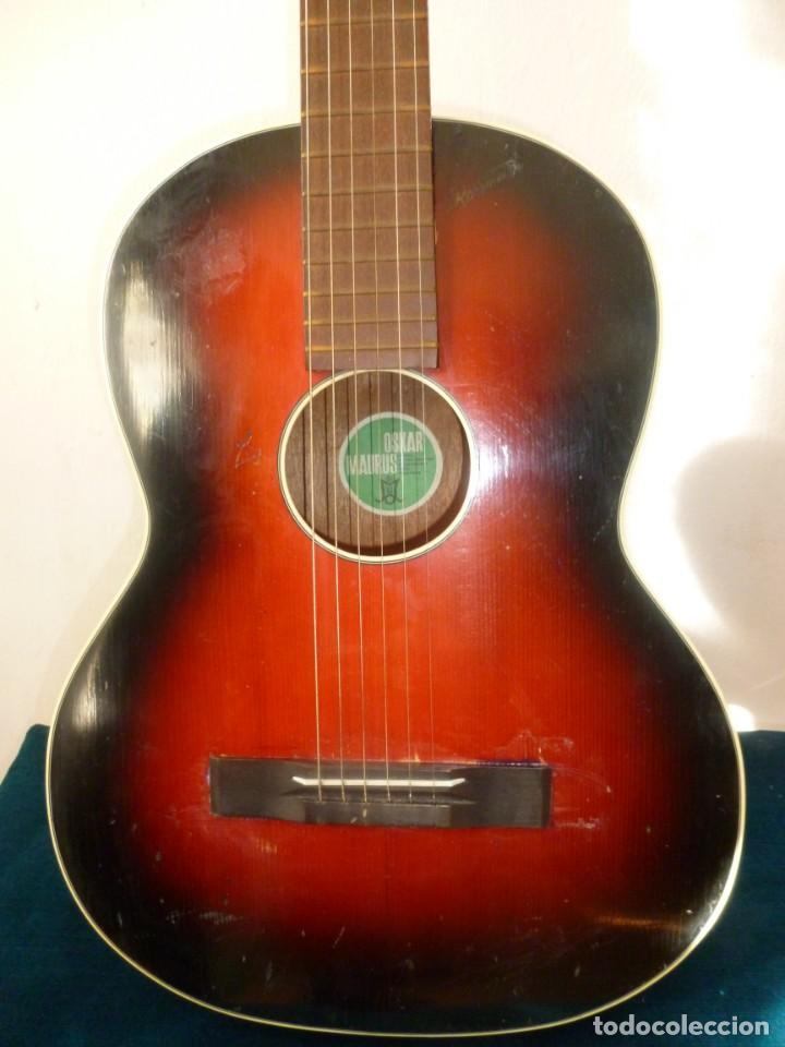Instrumentos musicales: guitarra austriaca Oskar Maurus - Foto 2 - 152940082