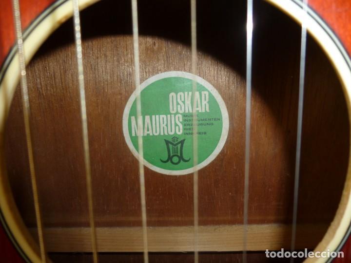 Instrumentos musicales: guitarra austriaca Oskar Maurus - Foto 3 - 152940082