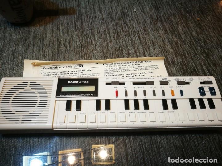 ÓRGANO MUSICAL ELECTRÓNICO. CASIO VL- TONE (Música - Instrumentos Musicales - Pianos Antiguos)