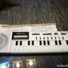 Instrumentos musicales: ÓRGANO MUSICAL ELECTRÓNICO. CASIO VL- TONE. Lote 153734258