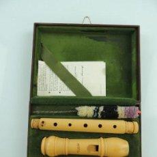 Instrumentos musicales: ORIGINAL FLAUTA MOECK ROTTENBURGH. Lote 154048866