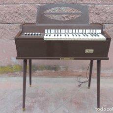 Instrumentos musicales: PRECIOSO ÓRGANO / PIANO DE LA FIRMA ESTADOUNIDENSE MAGNUS HARMONICA CORPORATION, AÑOS 50. Lote 154051658