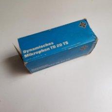Instrumentos musicales: MICRÓFONO ANTIGUO DINÁMICO ALEMÁN TD-20 TELEFUNKEN VINTAGE AÑO 1966. Lote 154280153