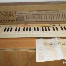 Instrumentos musicales: TECLADO CASIO MT-35. Lote 154363462