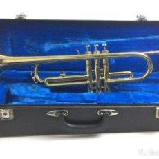 Instrumentos musicales: TROMPETA AMERICANA, SWALLOW, CON SU MALETÍN.. Lote 154663606