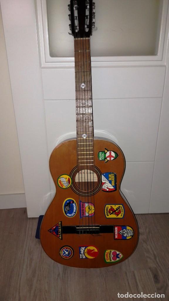 GUITARRA DE ESTUDIO (CON FUNDA) PRESTIGIOSA MARCA MANUEL G. CONTRERAS - MADRID - AÑOS 70 (Música - Instrumentos Musicales - Guitarras Antiguas)