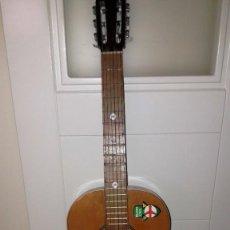 Instrumentos musicales: GUITARRA DE ESTUDIO (CON FUNDA) PRESTIGIOSA MARCA MANUEL G. CONTRERAS - MADRID - AÑOS 70. Lote 155240142