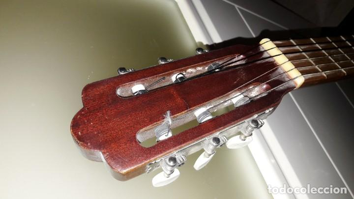 Instrumentos musicales: GUITARRA DE ESTUDIO (CON FUNDA) PRESTIGIOSA MARCA MANUEL G. CONTRERAS - MADRID - AÑOS 70 - Foto 4 - 155240142