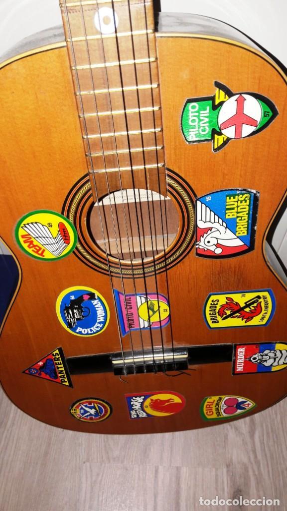 Instrumentos musicales: GUITARRA DE ESTUDIO (CON FUNDA) PRESTIGIOSA MARCA MANUEL G. CONTRERAS - MADRID - AÑOS 70 - Foto 5 - 155240142