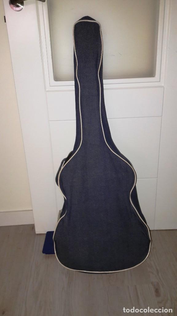 Instrumentos musicales: GUITARRA DE ESTUDIO (CON FUNDA) PRESTIGIOSA MARCA MANUEL G. CONTRERAS - MADRID - AÑOS 70 - Foto 7 - 155240142