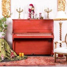 Instrumentos musicales: PIANO ANTIGUO RESTAURADO ROUGEÂTRE. Lote 155569374