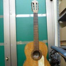 Instrumentos musicales: GUITARRA FLAMENCA O ESPAÑOLA FABRICADA POR GUILLERMO LLUQUET. Lote 155819022