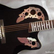 Instrumentos musicales: GUITARRA TIPO OVATION. Lote 155923834