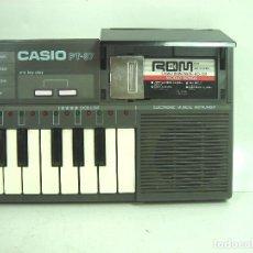 Instrumentos musicales: ORGANO-CASIO PT-87 +ROM PACK RO-551- JAPAN 80S - ¡¡¡FUNCIONANDO ¡¡¡ PT87-TECLADO PIANO ELECTRONICO. Lote 156003094
