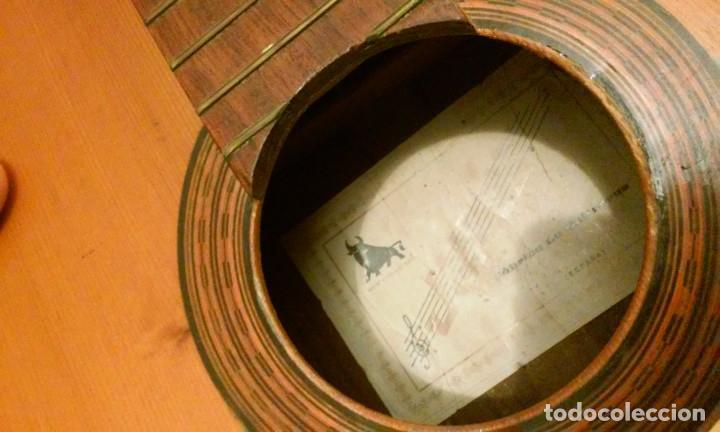 GUITARRA FLAMENCA ANTIGUA JULES JULIA ESTEVE PARA RESTAURAR (Música - Instrumentos Musicales - Guitarras Antiguas)