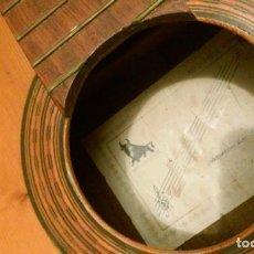 Instrumentos musicales: GUITARRA FLAMENCA ANTIGUA JULES JULIA ESTEVE PARA RESTAURAR. Lote 156146542