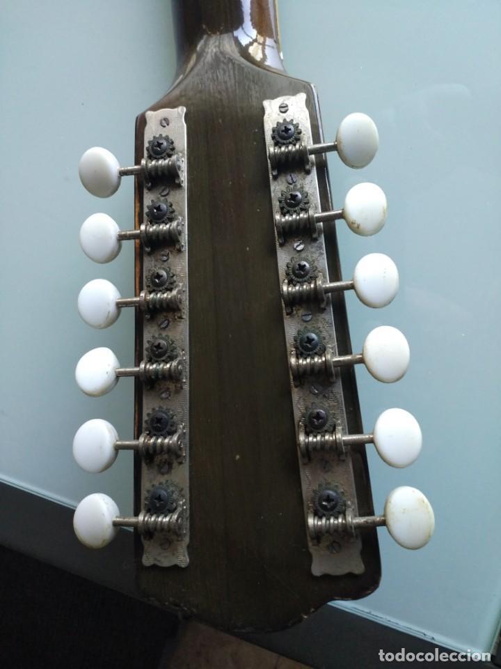 Instrumentos musicales: Rarisima Guitarra de 12 cuerdas Roca fabricada en Valencia gran calidad. - Foto 2 - 156187022