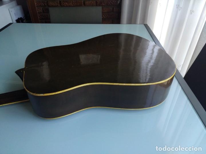Instrumentos musicales: Rarisima Guitarra de 12 cuerdas Roca fabricada en Valencia gran calidad. - Foto 3 - 156187022
