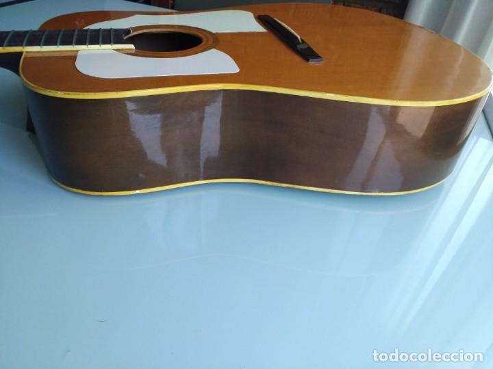 Instrumentos musicales: Rarisima Guitarra de 12 cuerdas Roca fabricada en Valencia gran calidad. - Foto 5 - 156187022