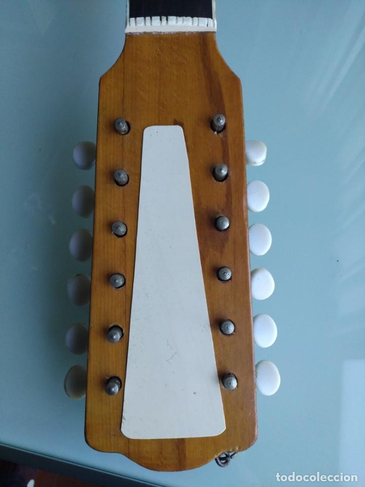 Instrumentos musicales: Rarisima Guitarra de 12 cuerdas Roca fabricada en Valencia gran calidad. - Foto 7 - 156187022