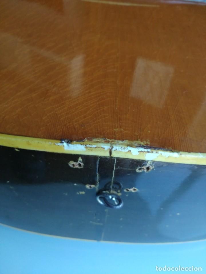 Instrumentos musicales: Rarisima Guitarra de 12 cuerdas Roca fabricada en Valencia gran calidad. - Foto 8 - 156187022