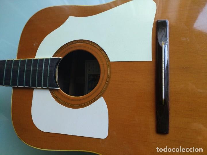 Instrumentos musicales: Rarisima Guitarra de 12 cuerdas Roca fabricada en Valencia gran calidad. - Foto 9 - 156187022