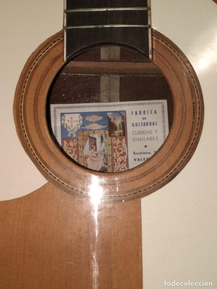 Instrumentos musicales: Rarisima Guitarra de 12 cuerdas Roca fabricada en Valencia gran calidad. - Foto 11 - 156187022