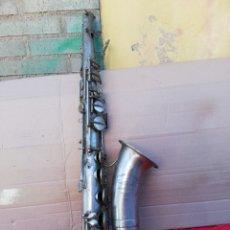 Instrumentos musicales: ANTIGUO SAXOFÓN SIGLO XIX RESTAURACIÓN. Lote 156493841