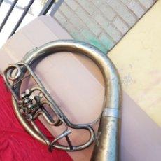 Instrumentos musicales: ENORME TUBA PROFESIONAL ALEMANA SIGLO XIX. Lote 156508613