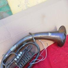 Instrumentos musicales: ANTIGUO INSTRUMENTO TROMPA SUIZA SIGLO XIX. Lote 156508713