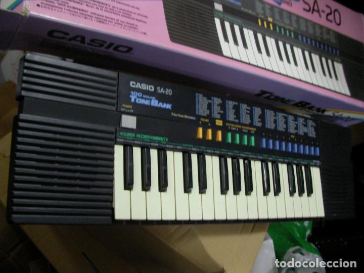 Instrumentos musicales: PIANO CASIO TONEBANK SA-20 EN SU CAJA - Foto 2 - 228746760