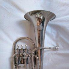 Instrumentos musicales: EXCELENTE BOMBARDINO DE LA CASA C. MAHILLON, BÉLGICA.. Lote 156885322