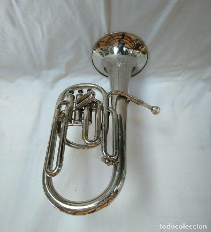 Instrumentos musicales: EXCELENTE BOMBARDINO DE LA CASA C. MAHILLON, BÉLGICA. - Foto 3 - 156885322
