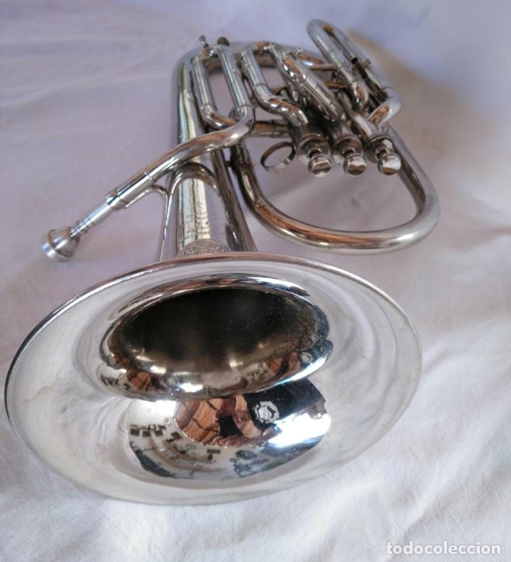 Instrumentos musicales: EXCELENTE BOMBARDINO DE LA CASA C. MAHILLON, BÉLGICA. - Foto 4 - 156885322