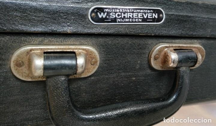 Instrumentos musicales: EXCELENTE BOMBARDINO DE LA CASA C. MAHILLON, BÉLGICA. - Foto 7 - 156885322