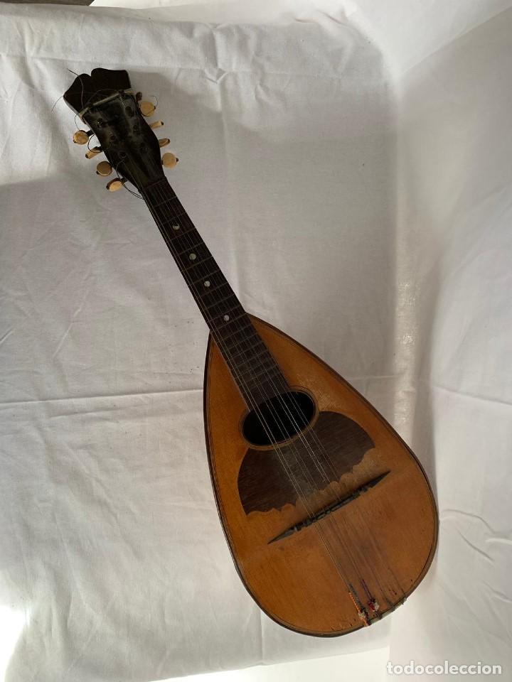MANDOLINA ANTIGUA (Música - Instrumentos Musicales - Cuerda Antiguos)