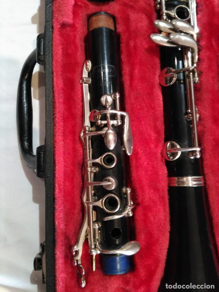Instrumentos musicales: Clarinete Bundy Rosonite Selmer. USA. En su caja. - Foto 5 - 157277858