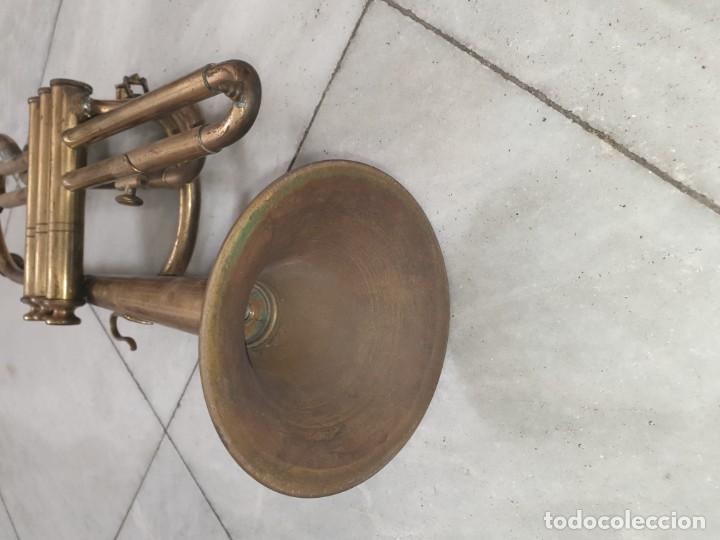 Instrumentos musicales: TROMPETA original - Foto 2 - 157802790