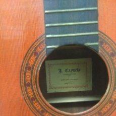 Instrumentos musicales: GUITARRA DE CONSTRUCTOR JAVIER CAYUELA PARA RESTAURAR. Lote 158101110